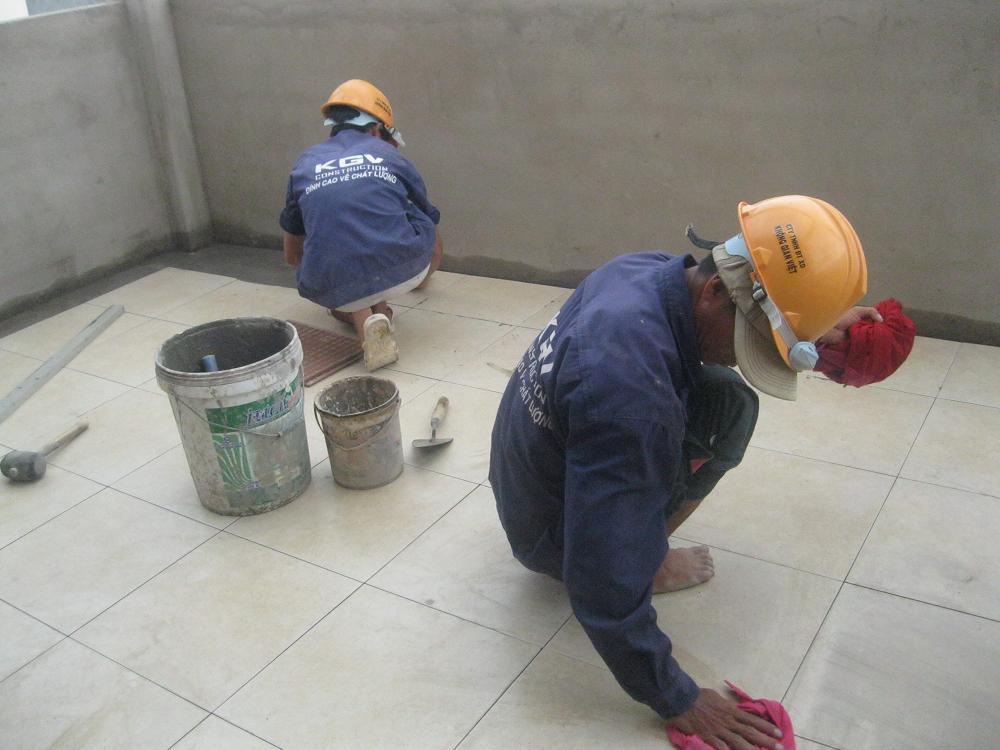 Thợ lát gạch nhà ở tại tphcm