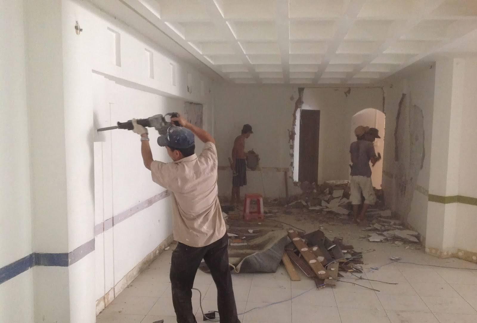 Thợ sơn sửa chữa nhà ở tại quận thủ đức