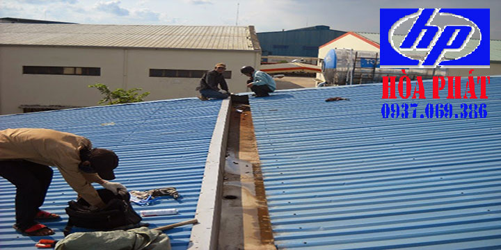 Thợ chống thấm dột mái tôn nhà ở Bình Dương Uy tín- Giá rẻ