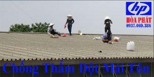 Thợ chống thấm dột mái tôn nhà ở quận 6 giá rẻ
