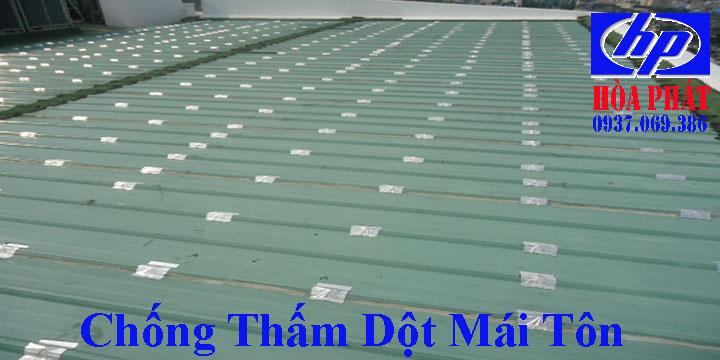 Thợ chống thấm dột mái tôn nhà ở quận 6 chuyên nghiệp