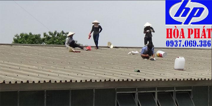 Thợ chuyên chống dột mái nhà tôn nhà ở quận 8