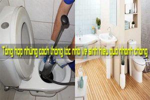 Tổng hợp những cách thông tắc nhà vệ sinh hiệu quả nhanh chóng